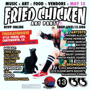 FRIED CHICKEN ART PARTY